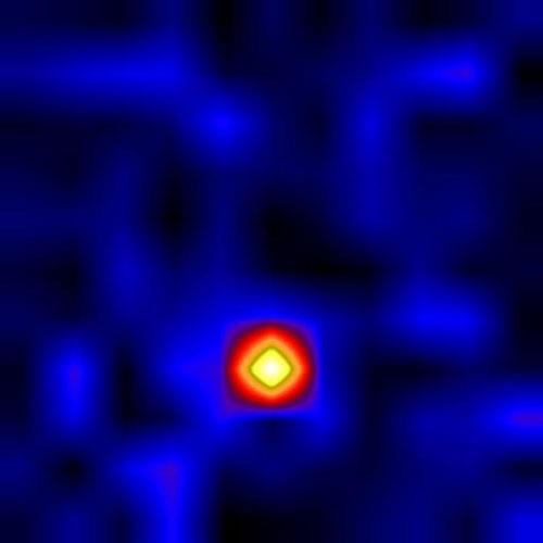 Shape Of Matter Near A Black Hole