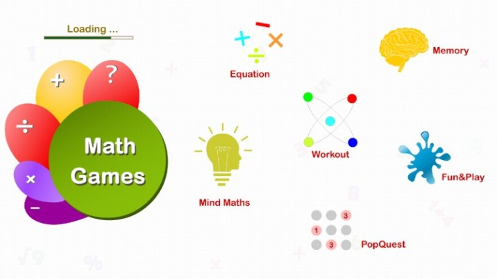 math games of adults