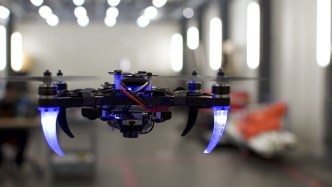 Drone Can Be Controlled By Eyes