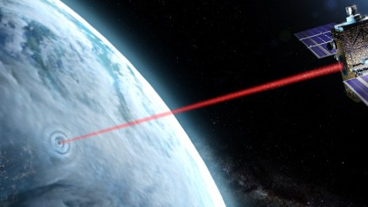 Hole In The Cloud via lasers