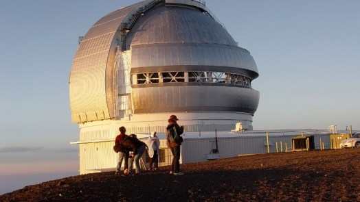 Gemini North - largest telescopes in the world