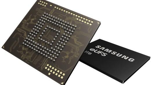 1TB Embedded Universal Flash Storage for smartphone