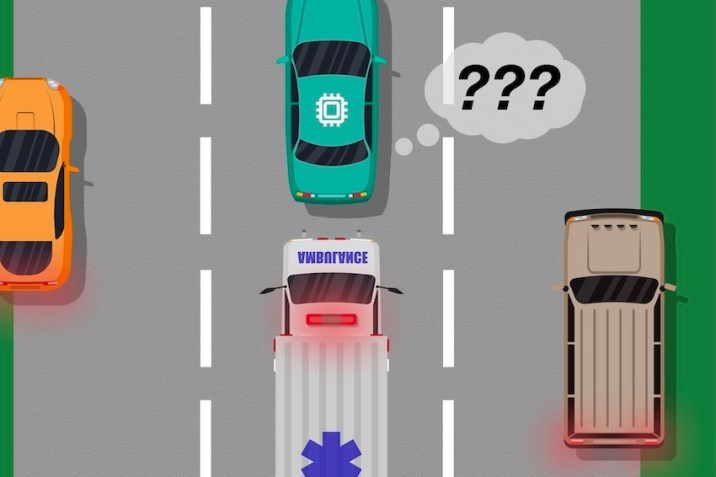 blind spots in Self-Driving Vehicles