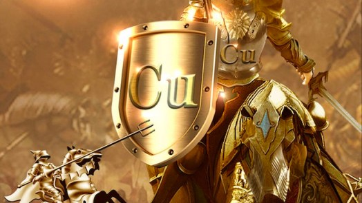 convert copper into gold