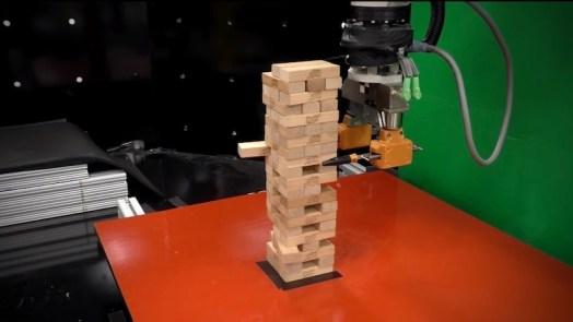 AI-Based Robot learns Jenga game