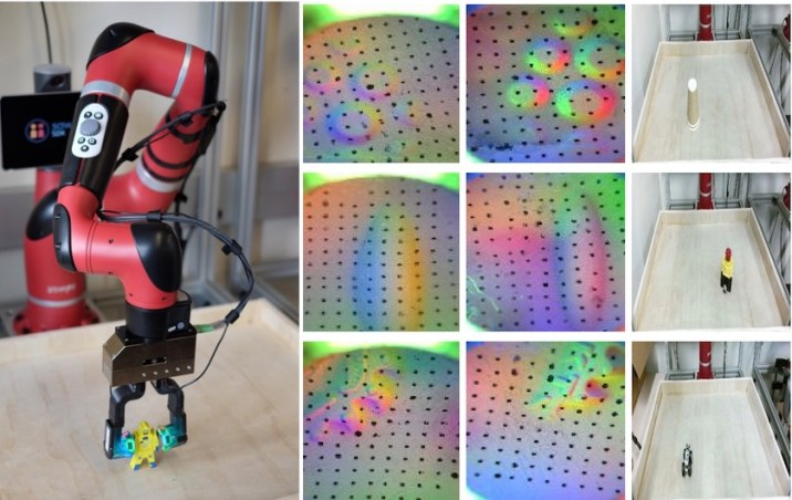 AI helps robot Recognize Objects By Touch