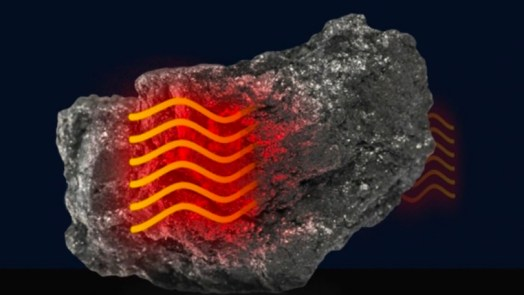 Heat Travels Like Sound in graphite
