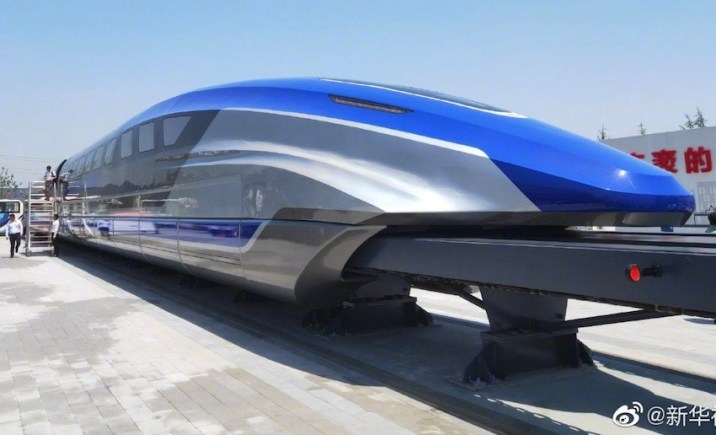 China Maglev Train Prototype