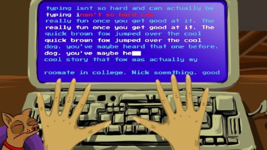 Cooldog Teaches Typing