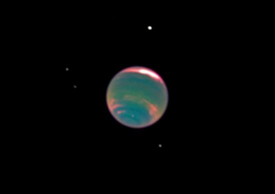 Methane on Neptune