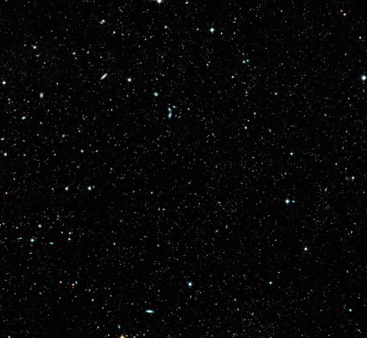 Broad view of universe
