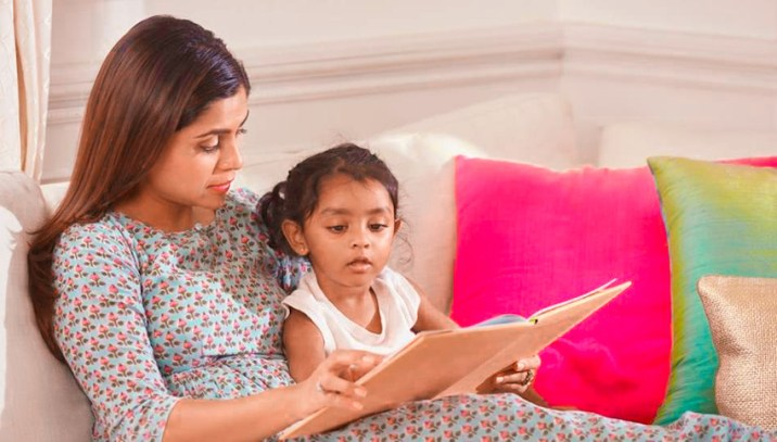 parent read with children