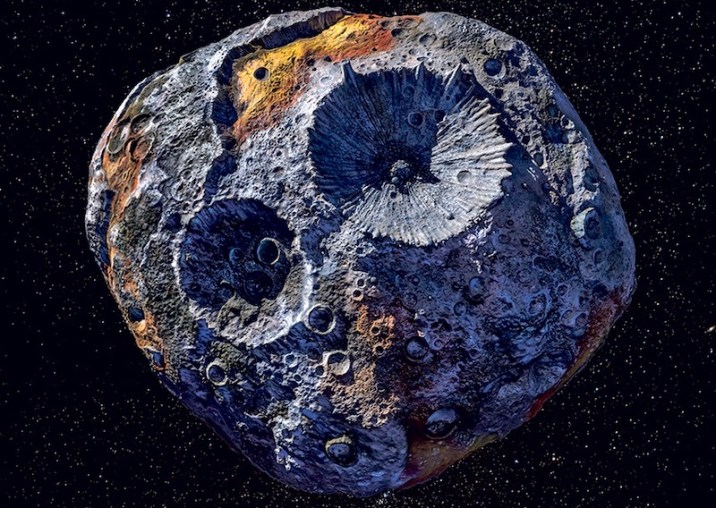 Mining Asteroids Using Bacteria