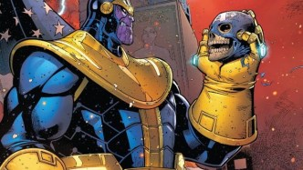 Thanos - most powerful marvel characters