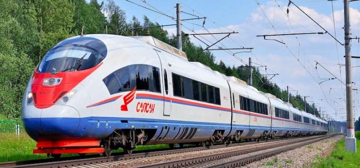 Fastest train - Velaro RUS