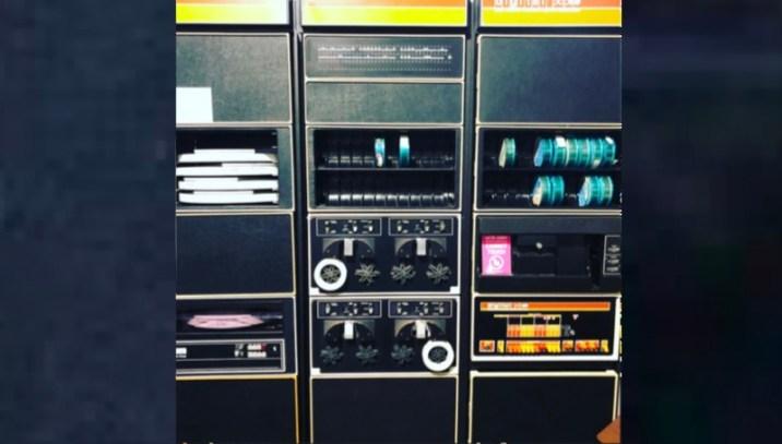 Minicomputer PDP-8