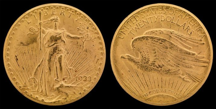1933-Double Eagle Saint Gaudens