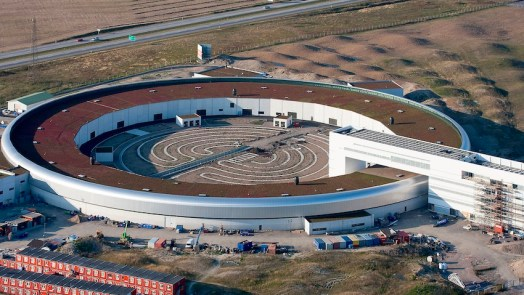Accelerates Particles To Speed of Light