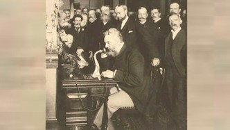 Alexander Graham Bell - who invented the telephone