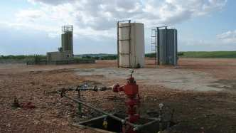 An open Well head - What is fracking?