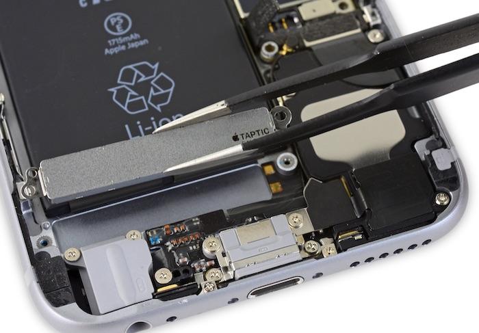 Taptic engine iphone
