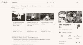 Wizard Of Oz - cool Google tricks