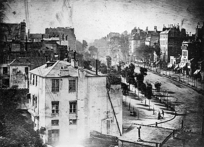 photo captured by Daguerre