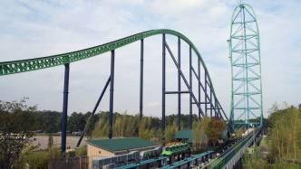 Kingda Ka - tallest roller coaster