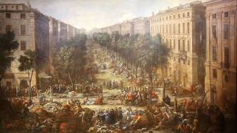 Marseille during the Great Plague - 18th century