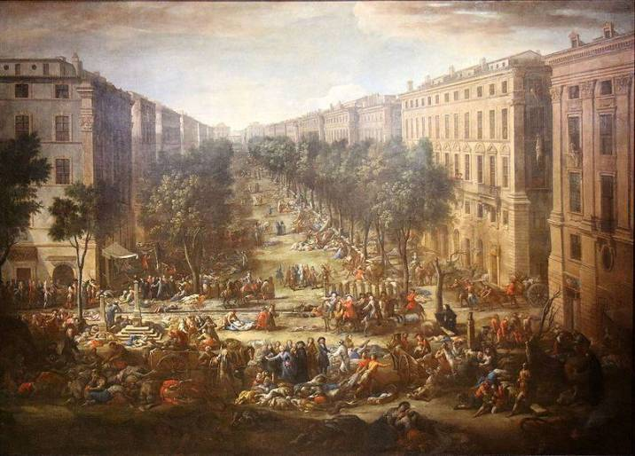 Marseille during the Great Plague