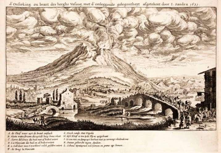 Mount Vesuvius eruption 1613