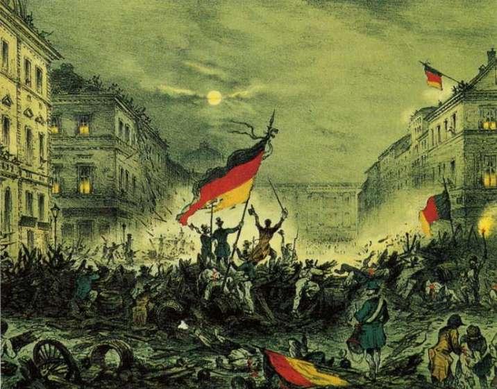 Revolution in 1848