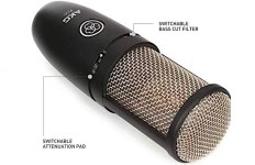 types of microphones - condenser