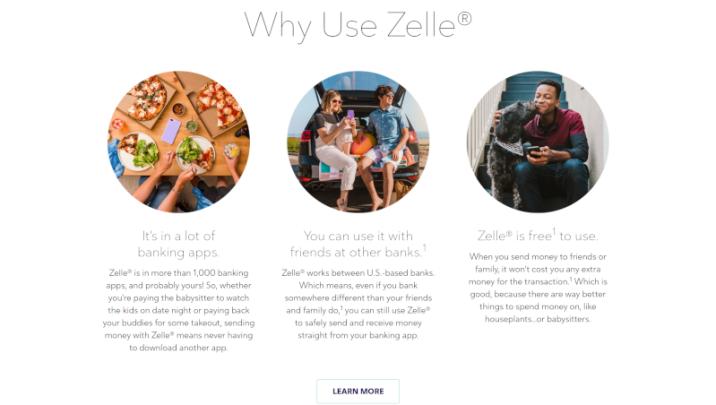 Zelle payments