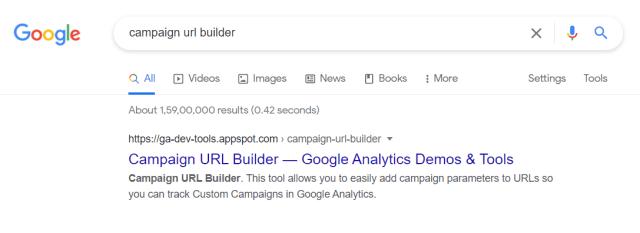 Campaign URL Builder Tool