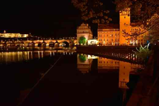 night at prague