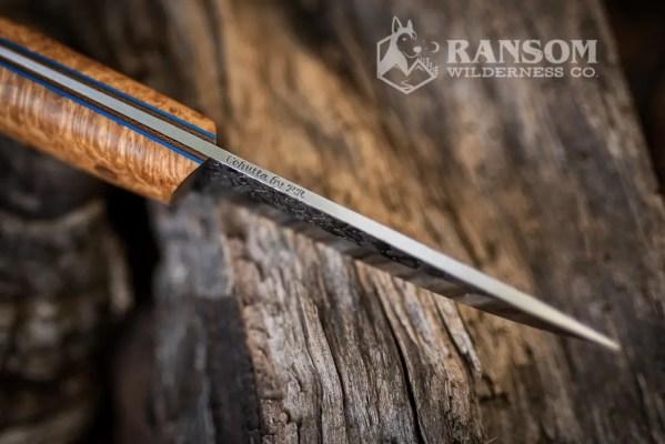 Cohutta Knife Puukko at Ransom Wilderness Co