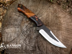 Brush Creek Knives Warden exclusive handmade knives at Ransom Wilderness Co