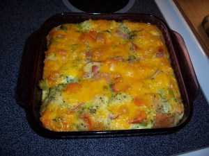 Savory Bread Pudding