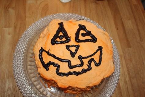 Halloween Ice Box Cake