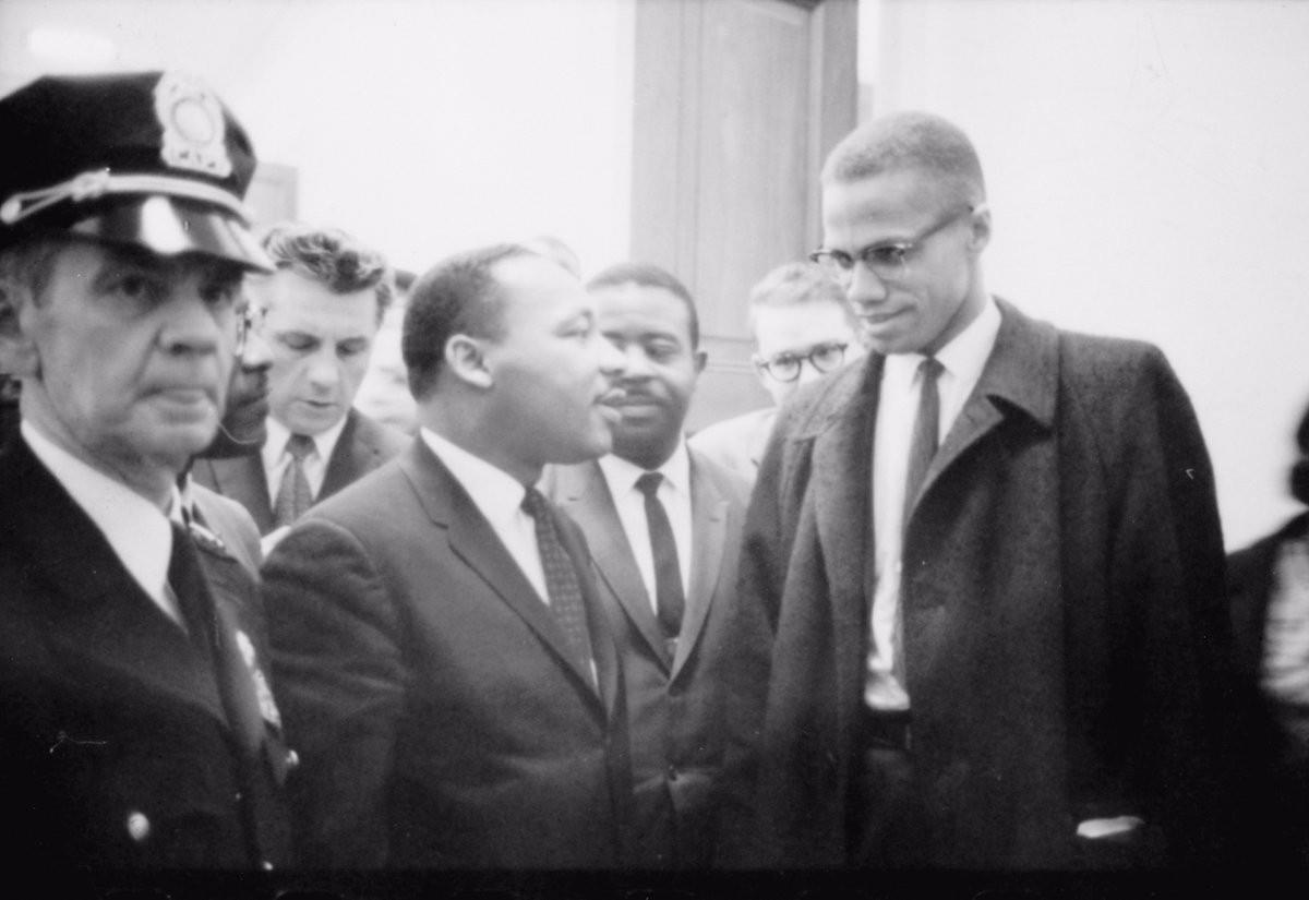On March 26, 1964, MLK and Malcolm X meet for the first and last time.