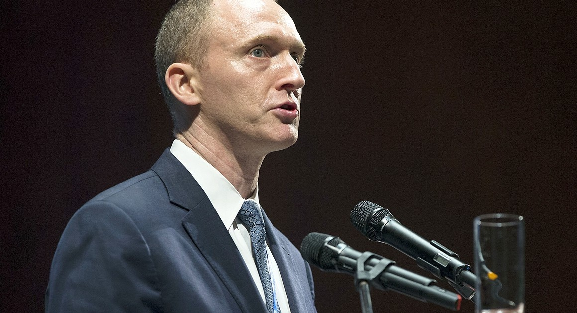 Former Trump Campaign Foreign Policy Advisor Carter Page (AP)