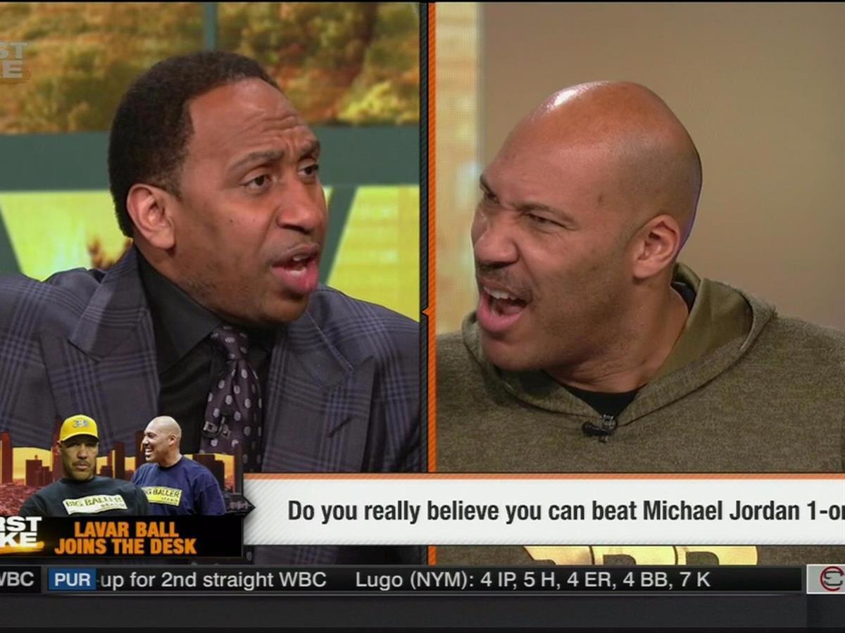 Stephen A. Smith and Lavar Ball(ESPN)