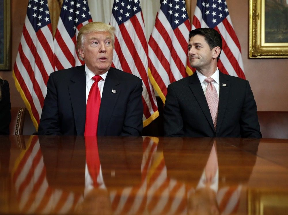 President Donald Trump and Speaker Paul Ryan (AP)