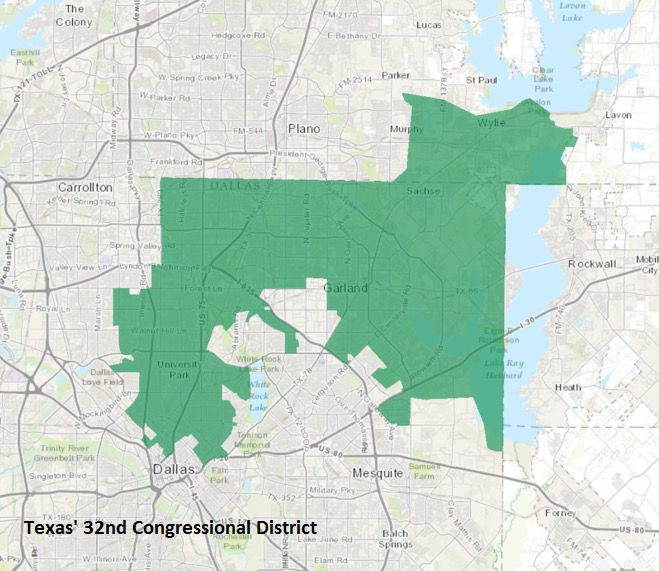 Texas' 32nd Congressional District