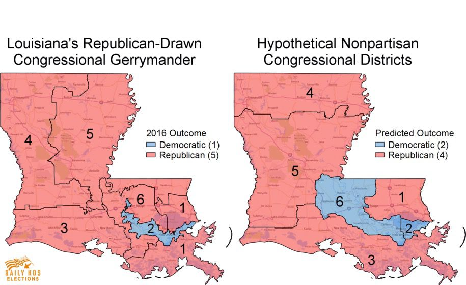 the top 10 most gerrymandered states in america rantt
