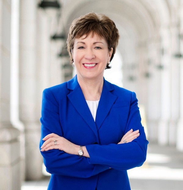 Susan Collins, Republican, Senior Senator from Maine