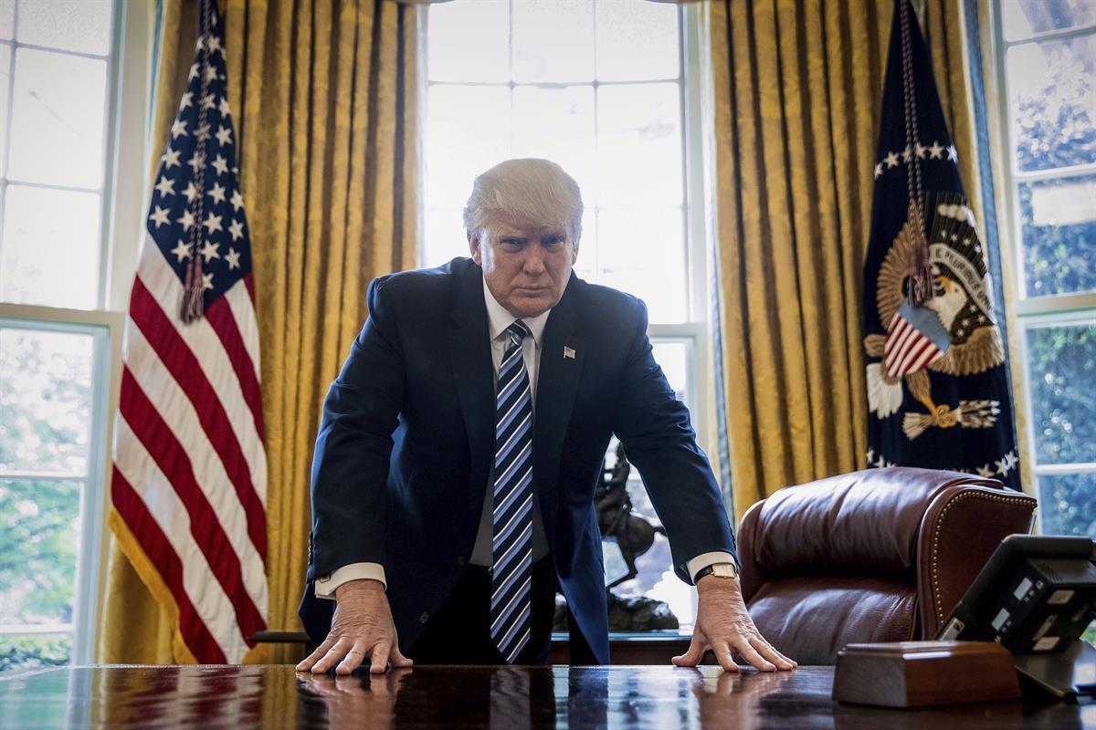 President Donald Trump (AP/Andrew Harnik)