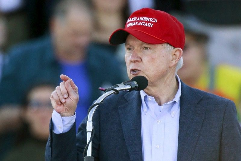 President Donald Trump (SAUL LOEB/AFP/Getty Images) and Attorney General Jeff Sessions (Marvin Gentry/Reuters)