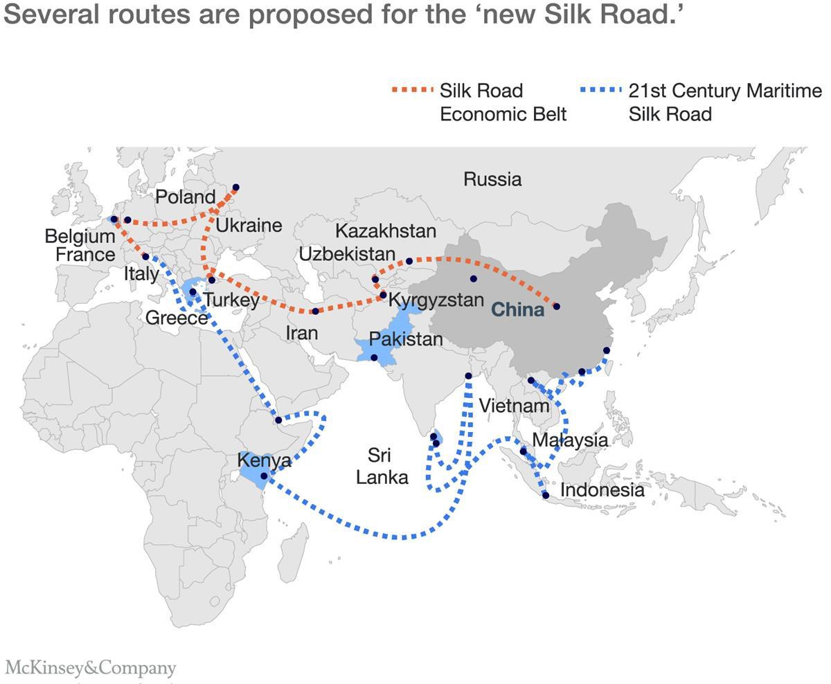 """One Belt, One Road: Connecting China and The World,"" McKinsey & Company"
